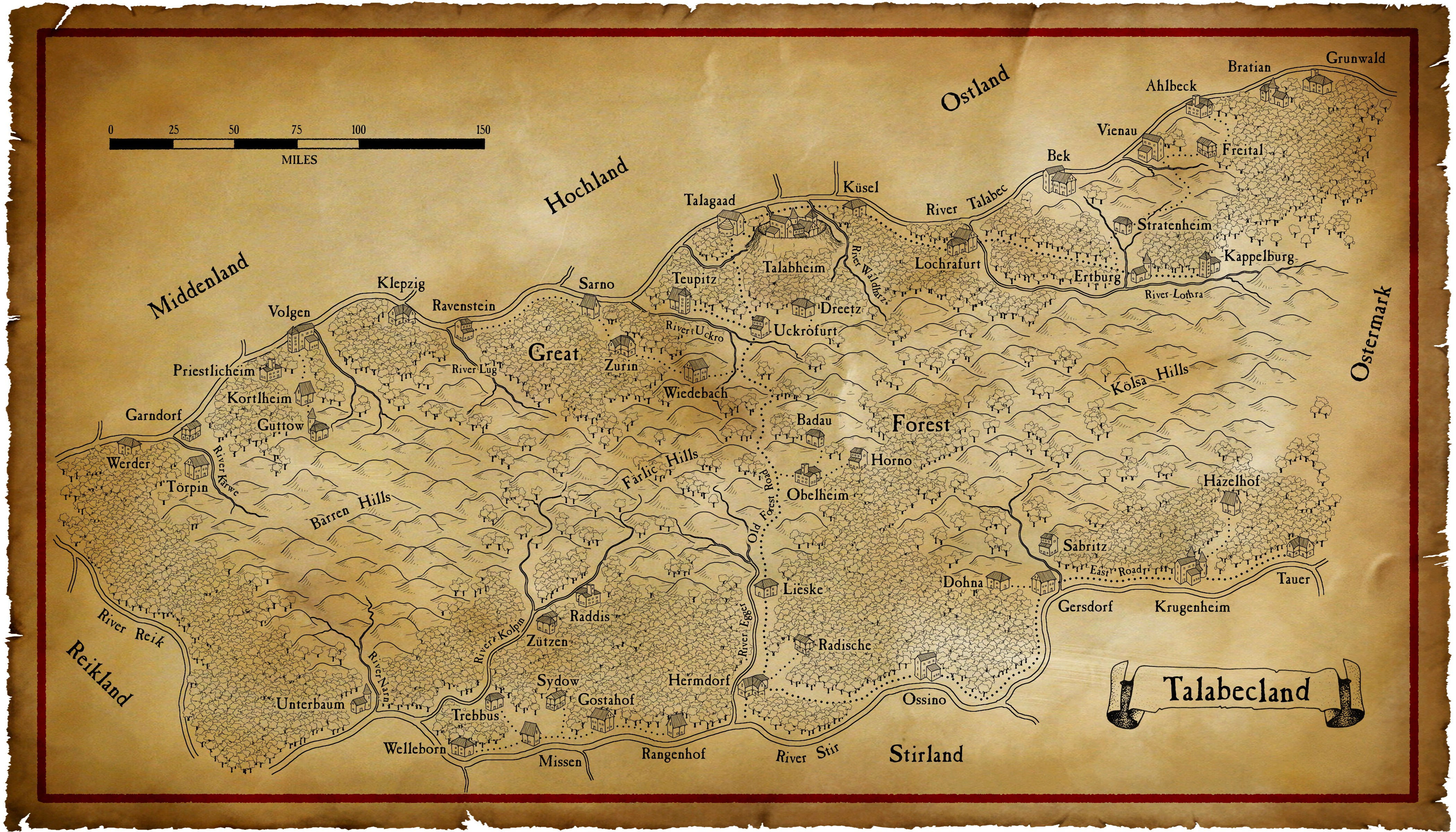 Winds of Chaos » Maps