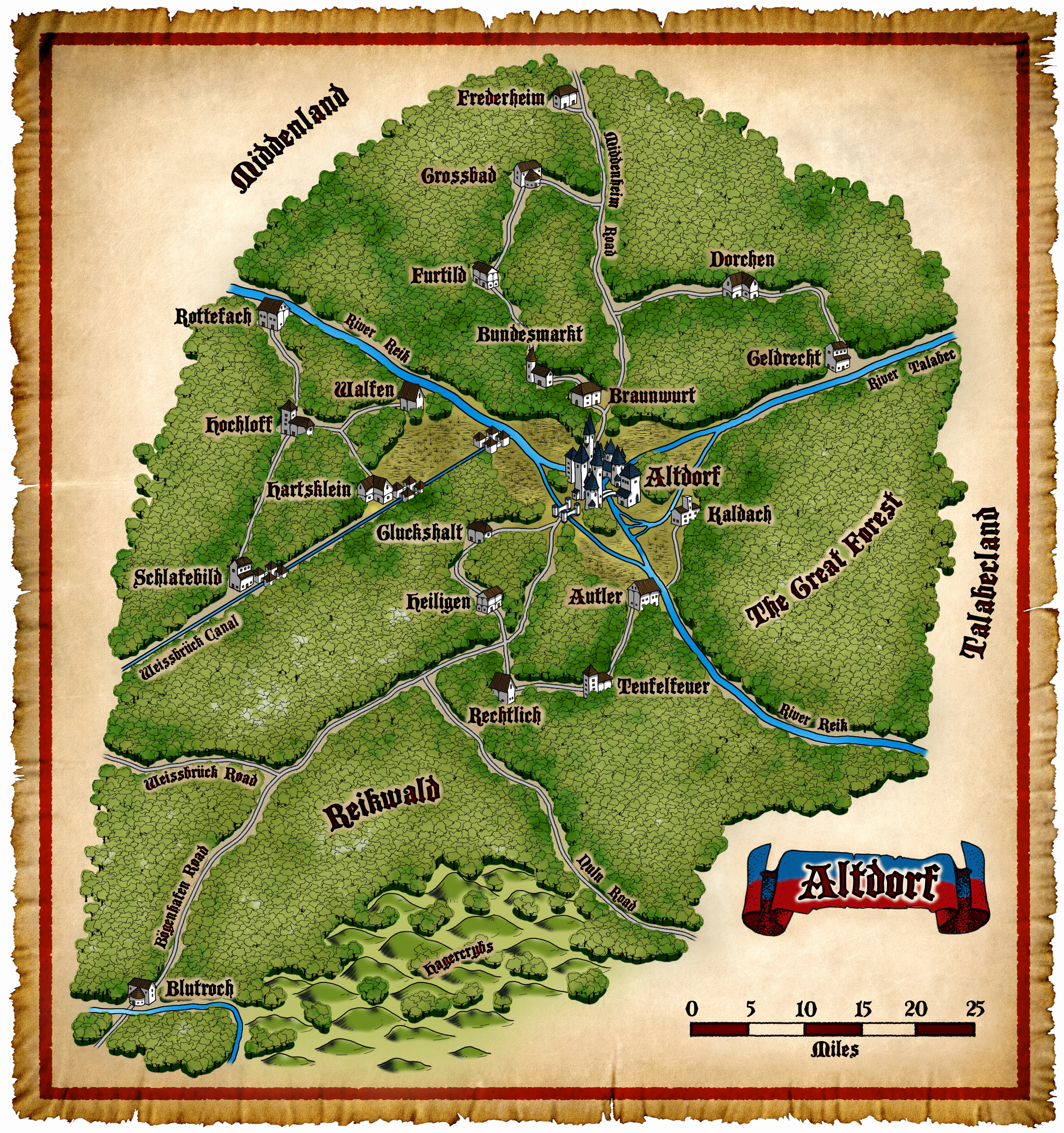City Of Sylvania >> Winds of Chaos » Maps